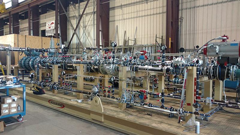 Fuel Gas Regulating Metering Skids