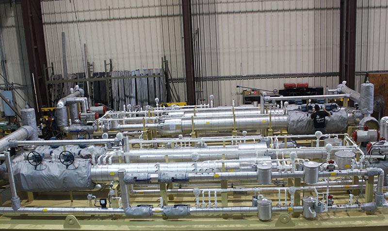 Fuel Gas Regulating / Metering Skids