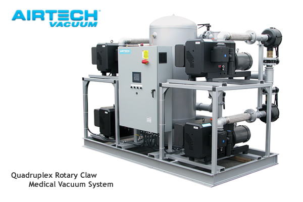 Industrial Vacuum Blower Systems : Vacuum and compressed air systems